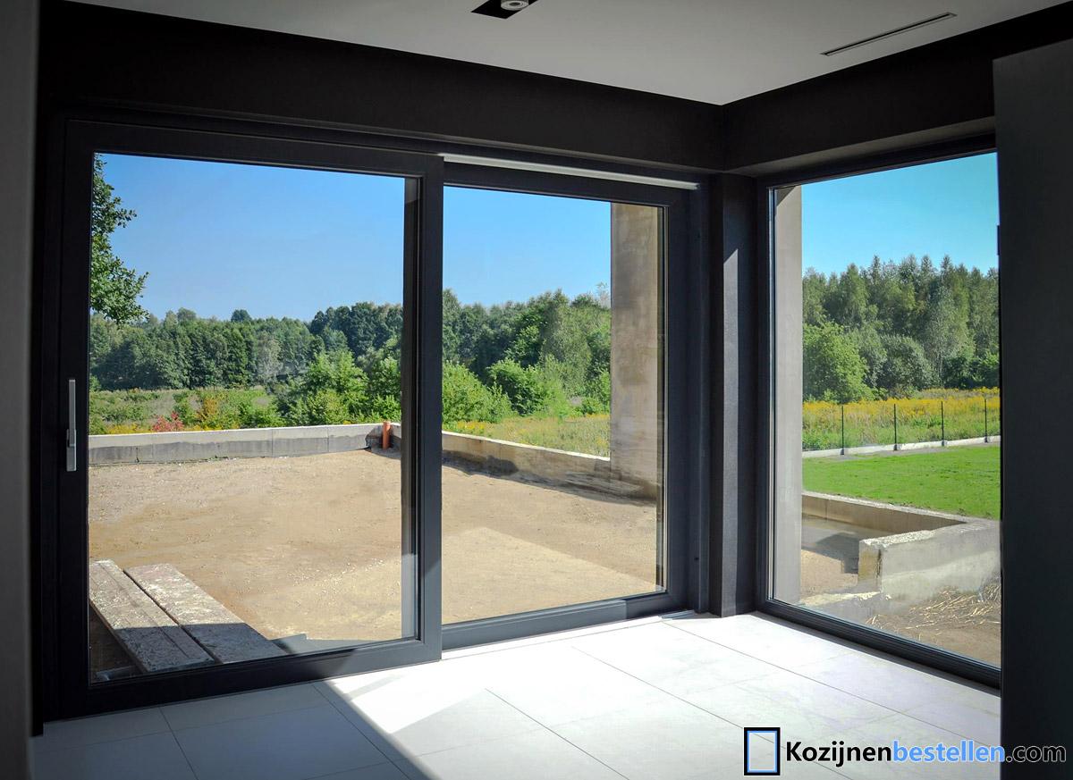 aluminium schuifpui. Black Bedroom Furniture Sets. Home Design Ideas
