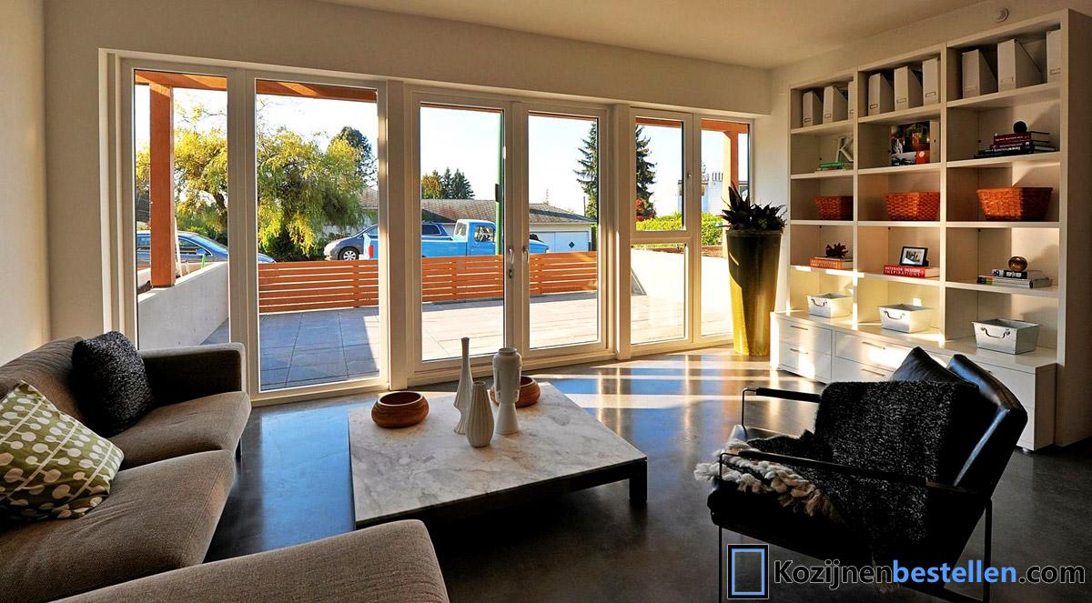 Breedte Openslaande Deuren : Kunststof aluminium deuren op maat prijzen verschillen